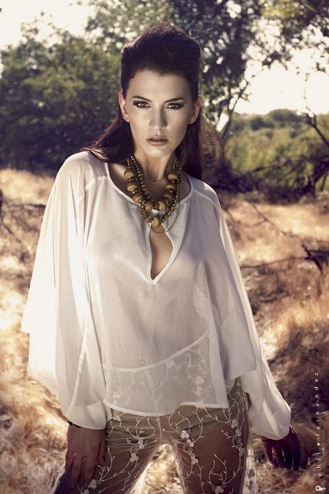 Fashion Editorial Photography: Phil Fernandez Makeup: Angie Suarez Hair: Roxy Garvan Designer: Serena Cowles Jewlery: Rob Bacon